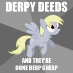 My 1st Derpy Hooves Meme by Pevlarus-in-Exile