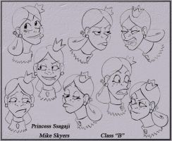 Character Expression Sheet by 0SkyerS0