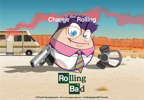 Breaking Bad + Rolling Legend by Frandali