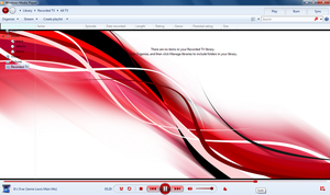 RED WMP12 Theme- WIN7 X 86 by Legacy-Code