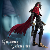 New ID Vincent Valentine by RoxasTsuna