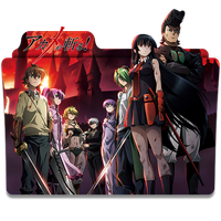 Akame ga Kill - Icon Folder by ubagutobr