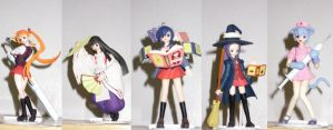 Negima Figs by Omega-Jester