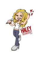 Haley Reinhart Cartoon by vitamingem