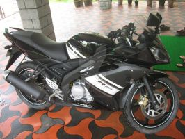 My Bike Yamaha R15 by diablocyrus