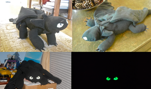 Updates to Night Fury Plush by Sareii
