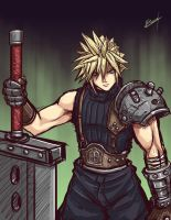 Cloud 1st Class SOLDIER by Karosu-Maker