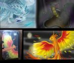 Mythical Creature Project by Camelliawolf