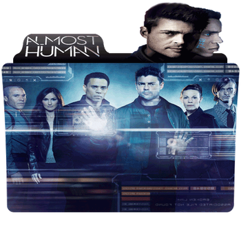 Almost Human Folder by DTMee