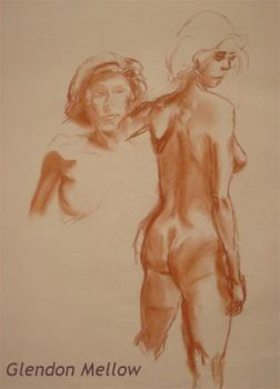 Life Drawing - Female 2 by GlendonMellow