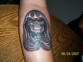 reaper tattoo by ashes48
