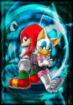 Knux and Rouge by Psychograve