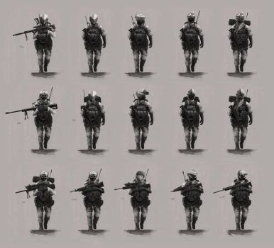 soldier concept by 0800
