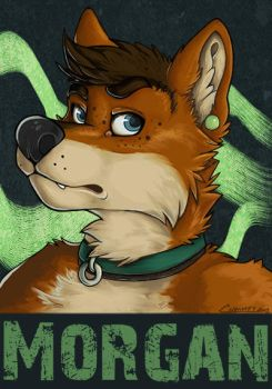 Morgan Conbadge by Chromeydragon
