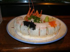 Sweet Shrimp Sushi. by GermanCityGirl