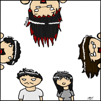 Family Drawing by Rap3Monst3r