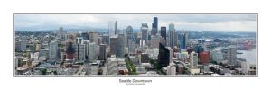 Seattle Downtown Panorama by aponom