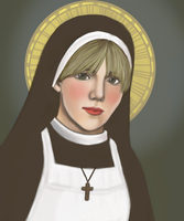 Sister Mary Eunice by girabbit
