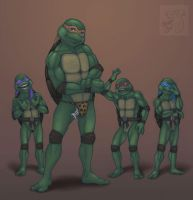 TMNT - What the shell by CreepyCatProductions