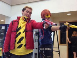 Party Poison and Kobra Kid Cosplay by Skatarded