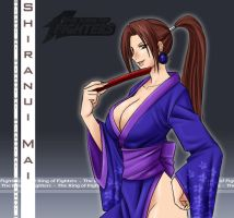 DS_MAI SHIRANUI by IDarkShadowI