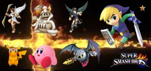 My SMASH Lineup by pimmermen