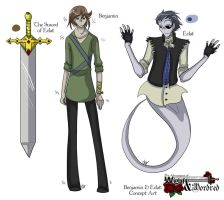 WaM - Concept Ben and Eclat by liliy