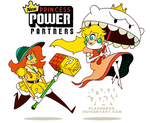New Princess Power Partners - Daisy + Peach by FlashBros