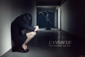 Anorexia a disease that kills. by ricchy