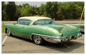 Sharp Green Cadillac Eldorado by TheMan268