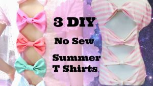 3 DIYs/Ideas T shirts for Summer by YumiKing