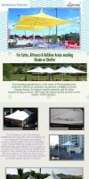 Architectural and Outdoor Umbrellas by StructureFlx