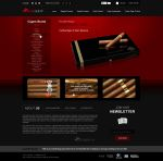 VIP Cuban Cigars - Website by c4rl2
