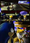 Sonic Legends: A hero's humble beginnings page #1 by TheMagyar
