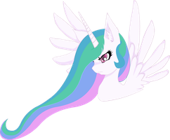 Young Princess Celestia by TehDragonOverlord