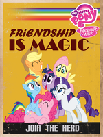 Friendship is Magic Propaganda by BTedge116