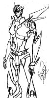 Transformers prime Arcee by tfgirl
