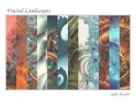 Calendar: Fractal Landscapes by SalHunter