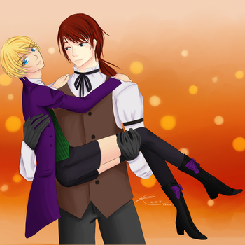 Terence x Alois by kikitchii