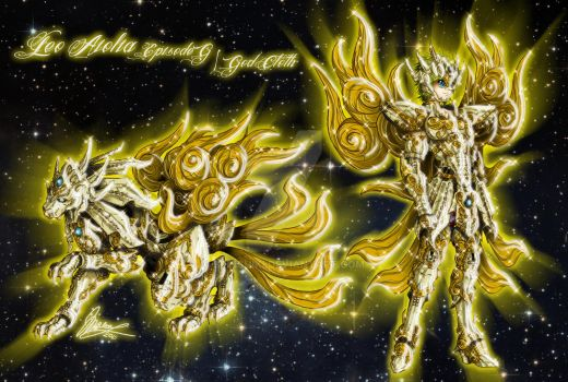 Leo Aiolia God Cloth - Episode G version by Sekishiki