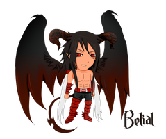 Redemptionem_Belial Chibi by SoulOfPersephone
