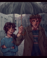 -Spring Showers Bring May Flowers- by HennaLucas