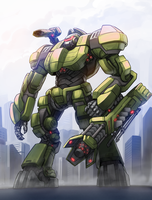 EDF Battlejack by KaijuDuke