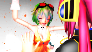 MMD Gumi and Luka by hella-K