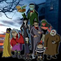 The Addams Family (2016) by Moheart7