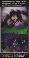 The Nightcrawlers Movie Poster by Chopfe