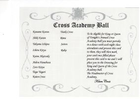 Vampire knight Ball Paper by lupevales