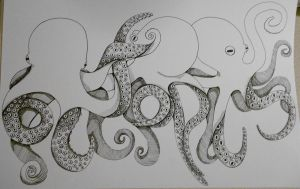 Octopus by radtastical