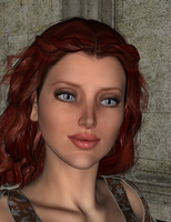 I tried to 3D render my avatar by Arielle-Lavecchia