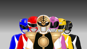 Mighty Morphin Power Rangers by Yurtigo